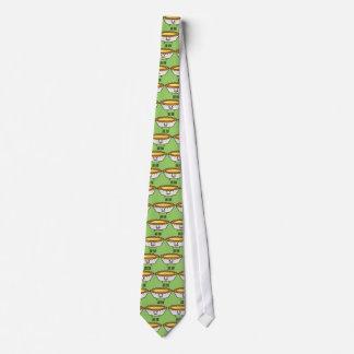Glückliches Ei-scharfer Vanillepuddingkruste Krawatte