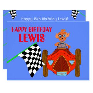 Glückliches Fahren durch Happy Juul Company 12,7 X 17,8 Cm Einladungskarte