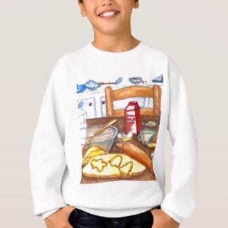 Glückliches Feiertags-Küchen-Zuhause, das Backen Sweatshirt