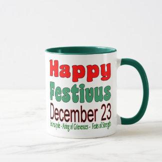 Glückliches Festivus am 23. Dezember 11 Unze. Tasse