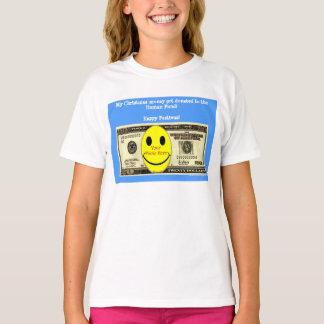 Glückliches Festivus kundenspezifisches Foto T-Shirt