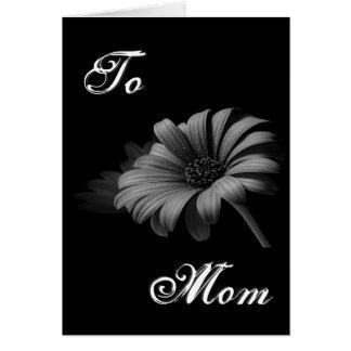 Glückliches graues Gänseblümchen der Mutter