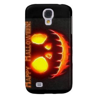 Glückliches Halloween 4 mit Text Galaxy S4 Hülle