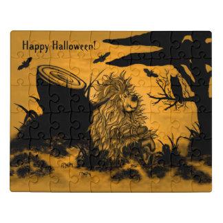 Glückliches Halloween durch Fidel der kleine Puzzle