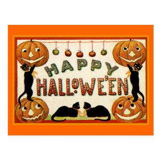 Glückliches Halloween Postkarte