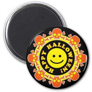 Glückliches Halloween Runder Magnet 5,7 Cm