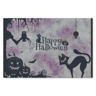 Glückliches Halloween Seidenpapier