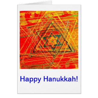 Glückliches Hannukkah! Karte