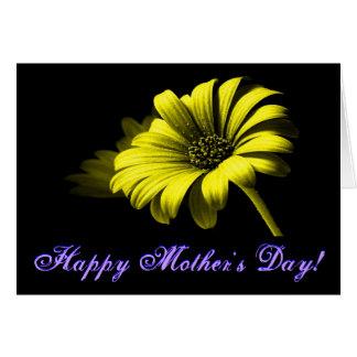 Glückliches helles gelbes Gänseblümchen der Mutter
