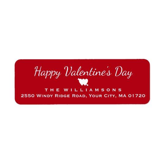 Glückliches Herz und -pfeil des Valentines