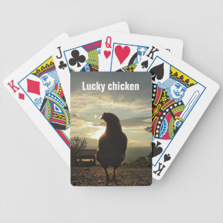 Glückliches Huhn 01,2 Poker Karten