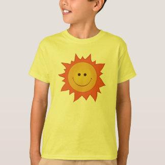 Glückliches lächelndes Sun-Kind T-Shirt