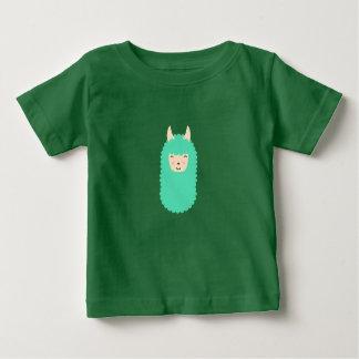 Glückliches Lama Baby T-shirt