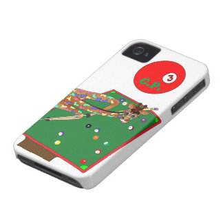 Glückliches Pool durch Happy Juul Company iPhone 4 Case-Mate Hülle