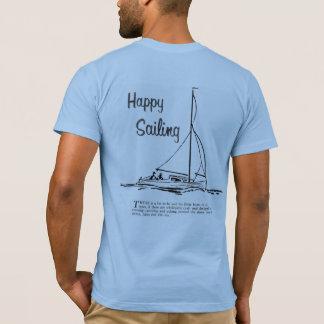 glückliches Segeln T-Shirt