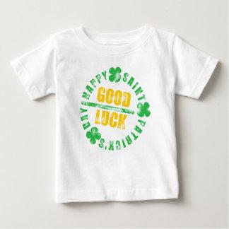 Glückliches St. Patricks Day-viel Glück Baby T-shirt