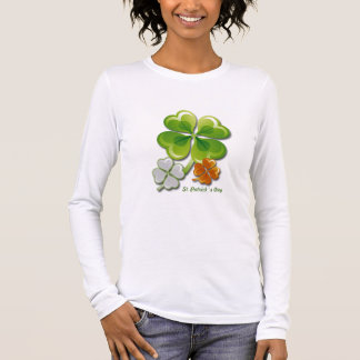 Glücksbringer. St Patrick TagesShirts Langärmeliges T-Shirt