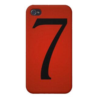Glückszahl 7 iPhone 4/4S hülle