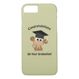 Glückwünsche auf Ihrem Abschlussaffen iPhone 7 Hülle