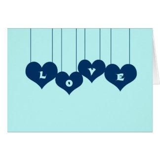 Glückwunschkarte Love Karte