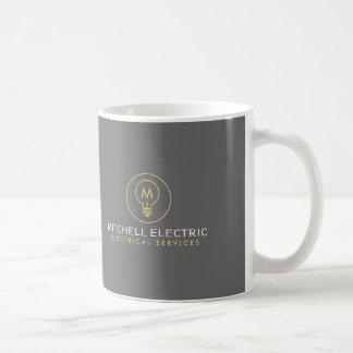 GLÜHLAMPE-MONOGRAMM-LOGO für ELECTRICANS Kaffeetasse