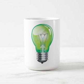 Glühlampebirne Kaffeetasse