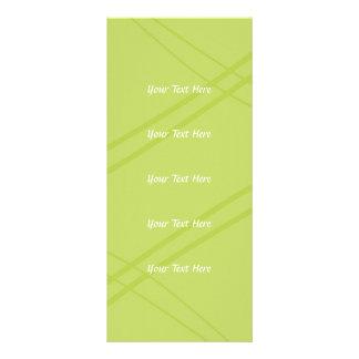 Glyzinien/gelbgrünes Crissed gekreuzt Karten Druck