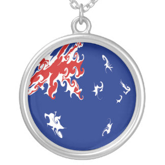 Gnarly Flagge Australiens Personalisierte Halskette
