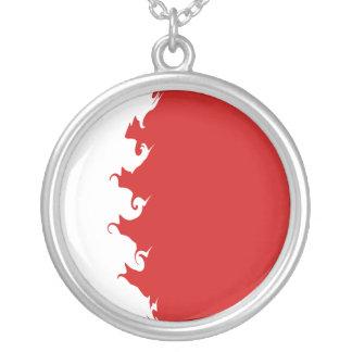 Gnarly Flagge Bahrains Personalisierte Halskette