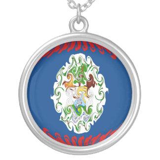 Gnarly Flagge Belizes Amuletten