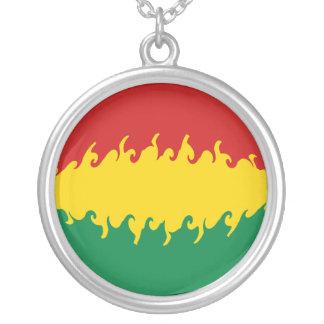 Gnarly Flagge Boliviens Halsketten