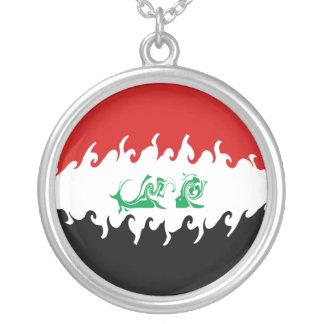 Gnarly Flagge des Iraks Amuletten