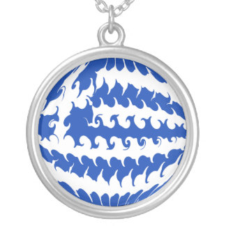 Gnarly Flagge Griechenlands Halsketten