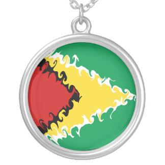 Gnarly Flagge Guyanas Halsketten