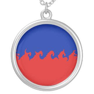 Gnarly Flagge Haitis Selbst Gestaltete Halskette