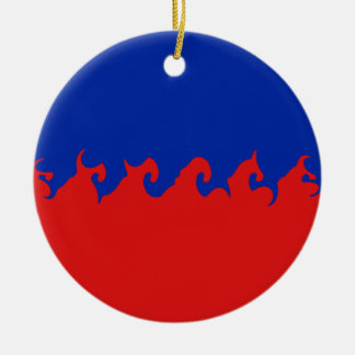 Gnarly Flagge Haitis Weihnachtsornament