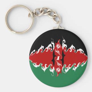 Gnarly Flagge Kenias Schlüsselband