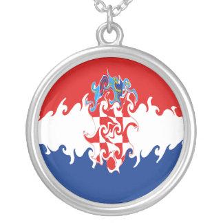 Gnarly Flagge Kroatiens Halsketten