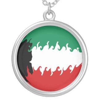 Gnarly Flagge Kuwaits Amulett