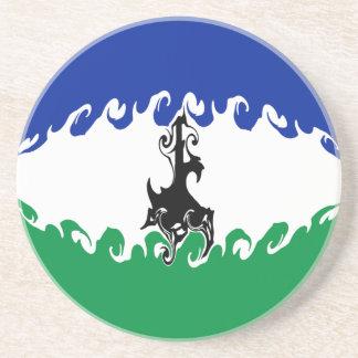 Gnarly Flagge Lesothos Bierdeckel