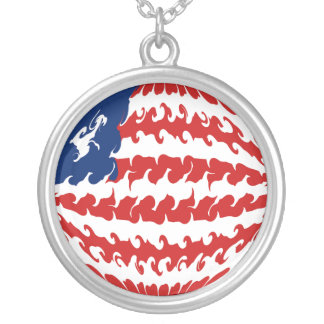 Gnarly Flagge Liberias Amulett
