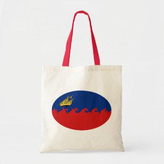Gnarly Flagge Liechtensteins Leinentasche