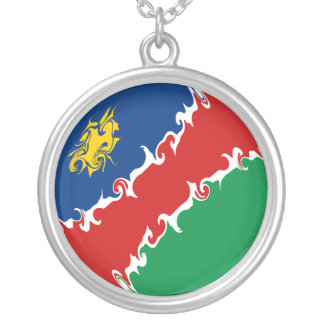 Gnarly Flagge Namibias Halsketten