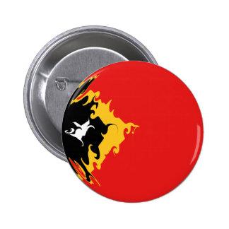 Gnarly Flagge Osttimor Anstecknadel