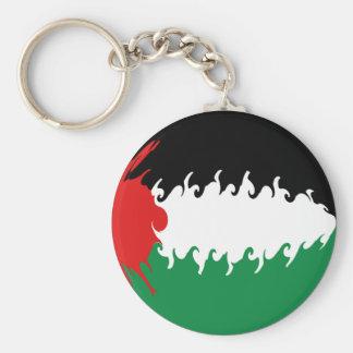Gnarly Flagge Palästinas Schlüsselbänder