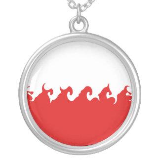 Gnarly Flagge Polens Amulett