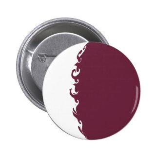 Gnarly Flagge Qatars Button