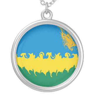 Gnarly Flagge Ruandas Amulett