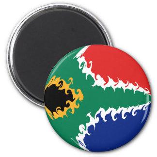 Gnarly Flagge Südafrikas Kühlschrankmagnete
