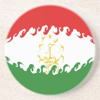 Gnarly Flagge Tadschikistans Untersetzer